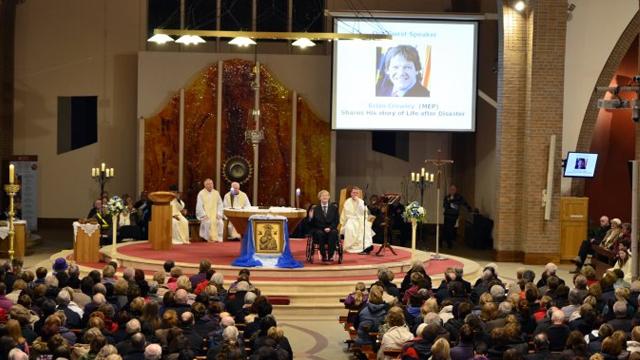 Portlaoise Parish Novena 2013 – Brian Crowley