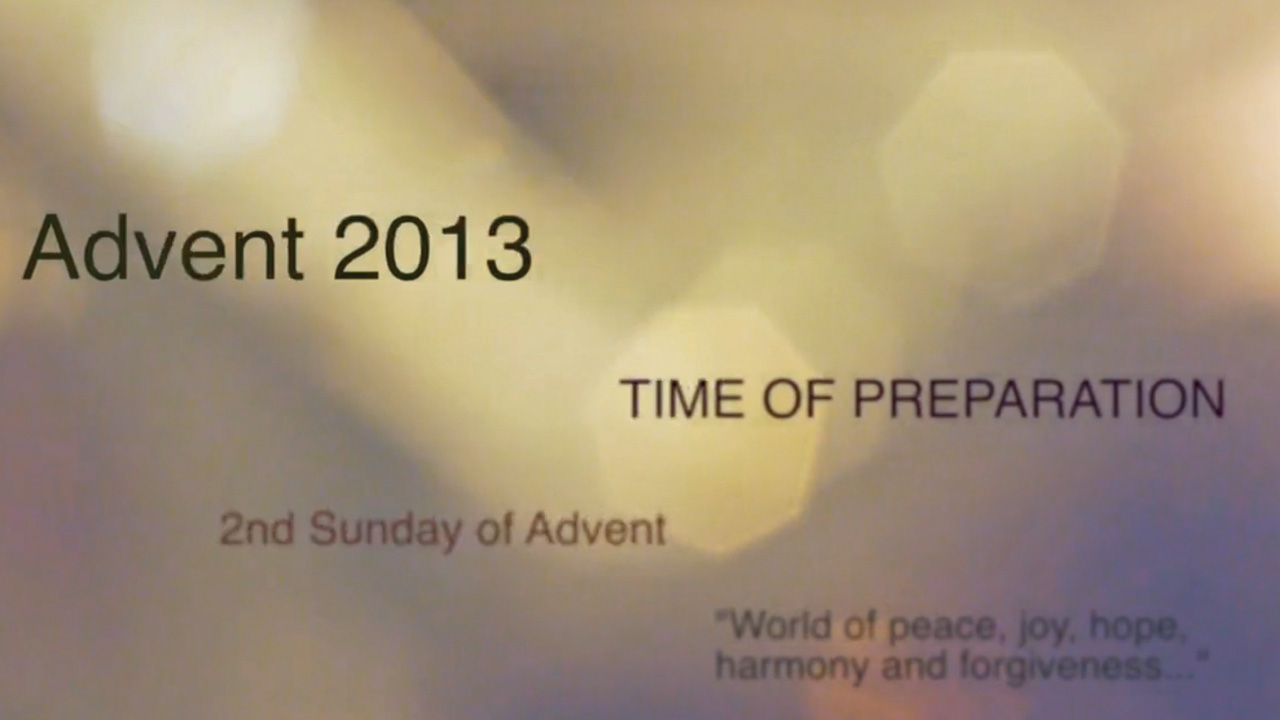 2nd Sunday of Advent – Fr Dan Carroll SDB