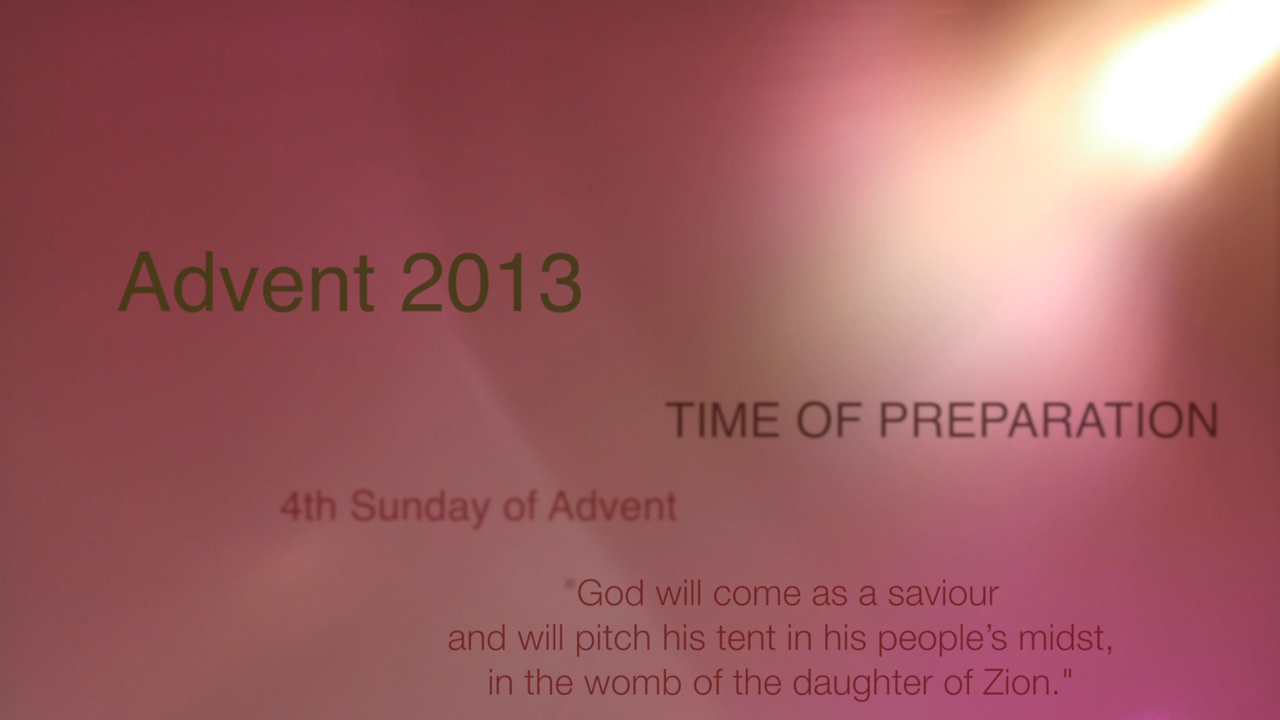 4th Sunday of Advent – Fr Dan Carroll SDB