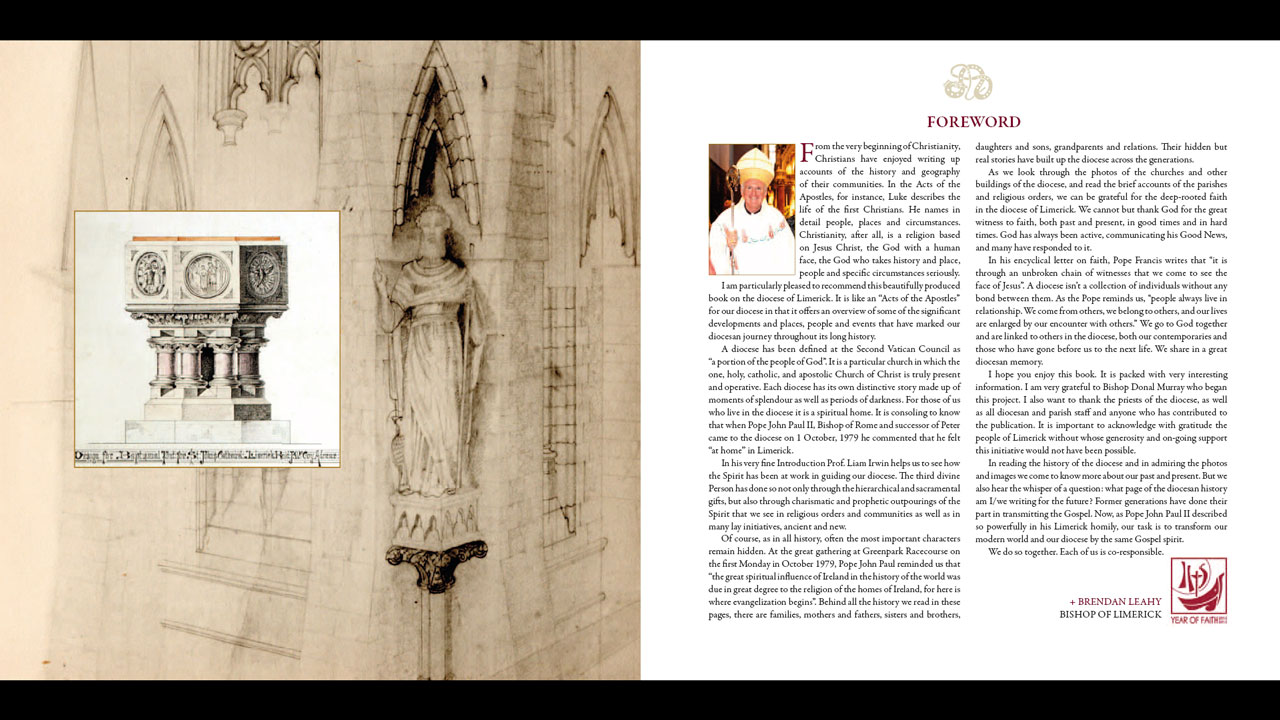 The History of Limerick Diocese – Bishop Leahy