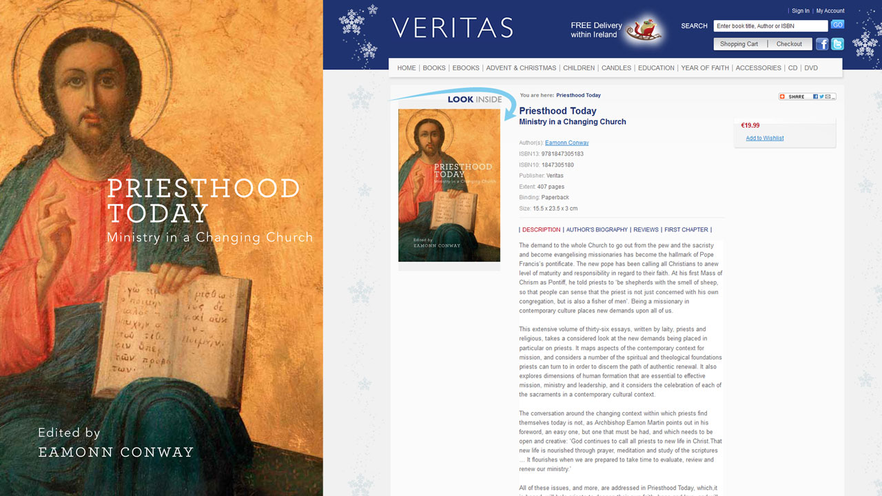 Priesthood Today – Ministry in a Changing Church