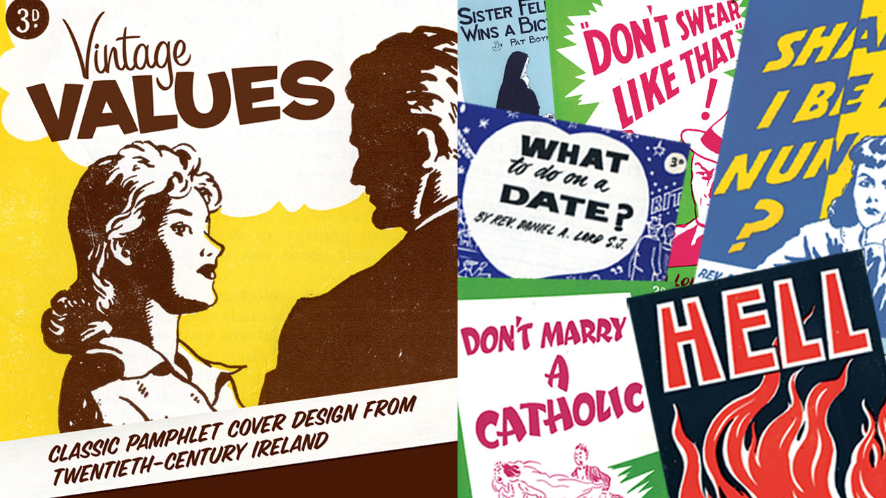 Vintage Values - Classic Pamphlet Cover Design - iCatholic.ie