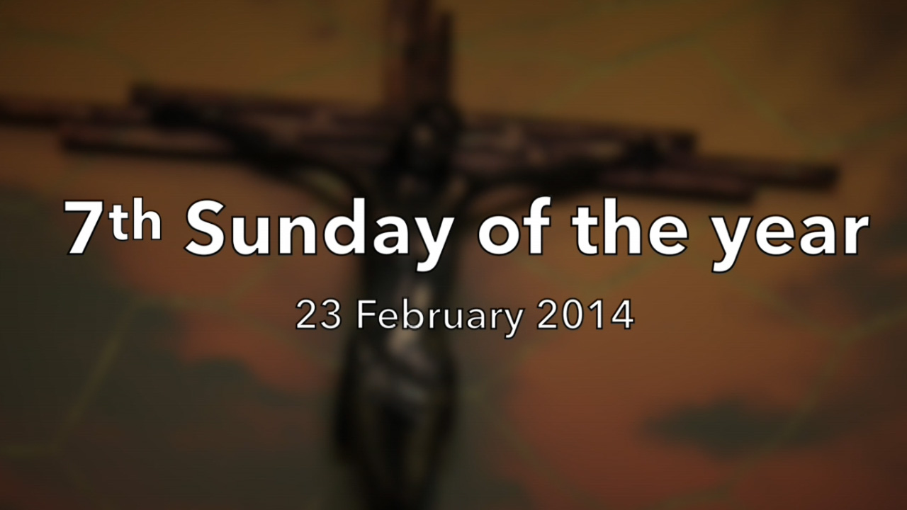 7th Sunday in Ordinary Time 2014 – Reflection