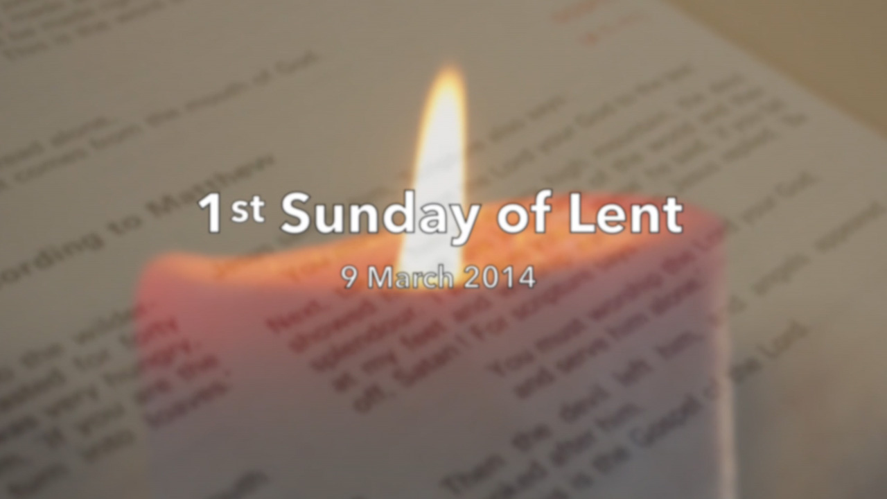 Reflection for First Sunday of Lent – Sr Sarah O'Rourke FMA
