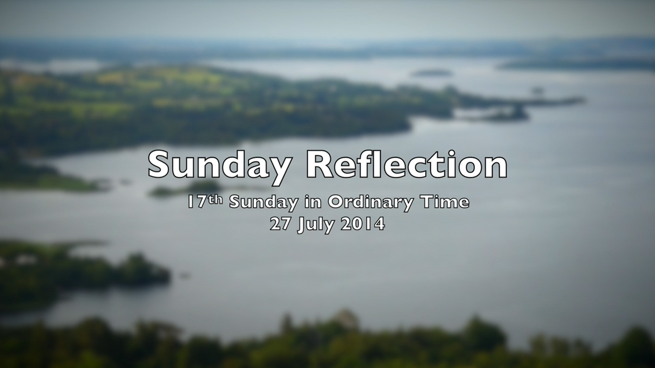 Reflection for 17th Sunday in ordinary Time