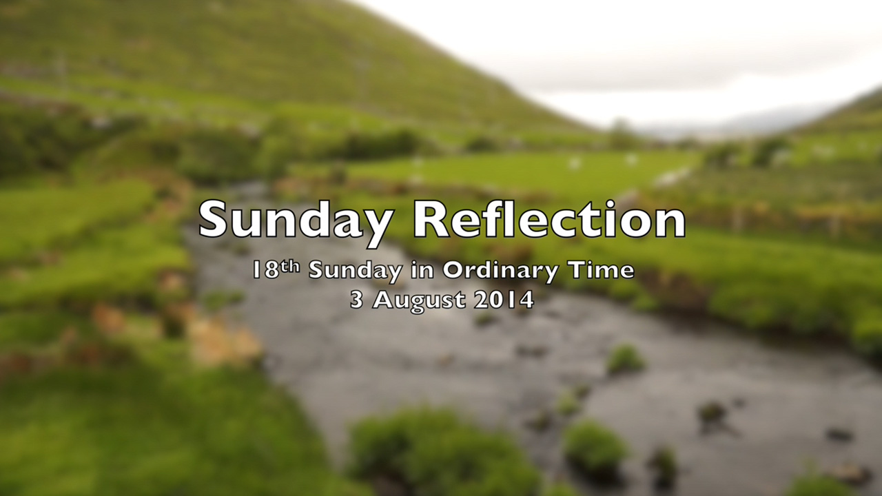 Reflection for 18th Sunday in Ordinary Time