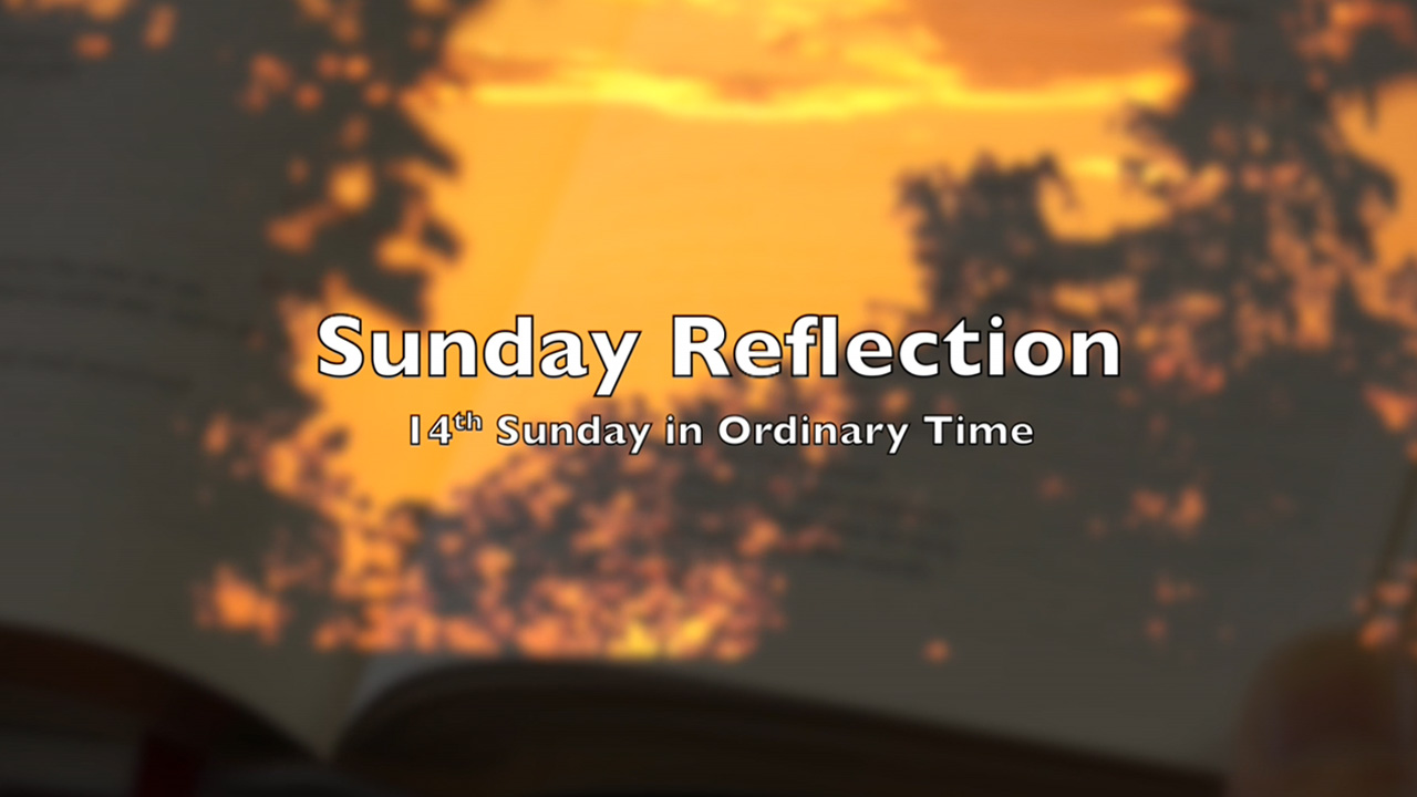 Reflection for 14th Sunday in Ordinary Time