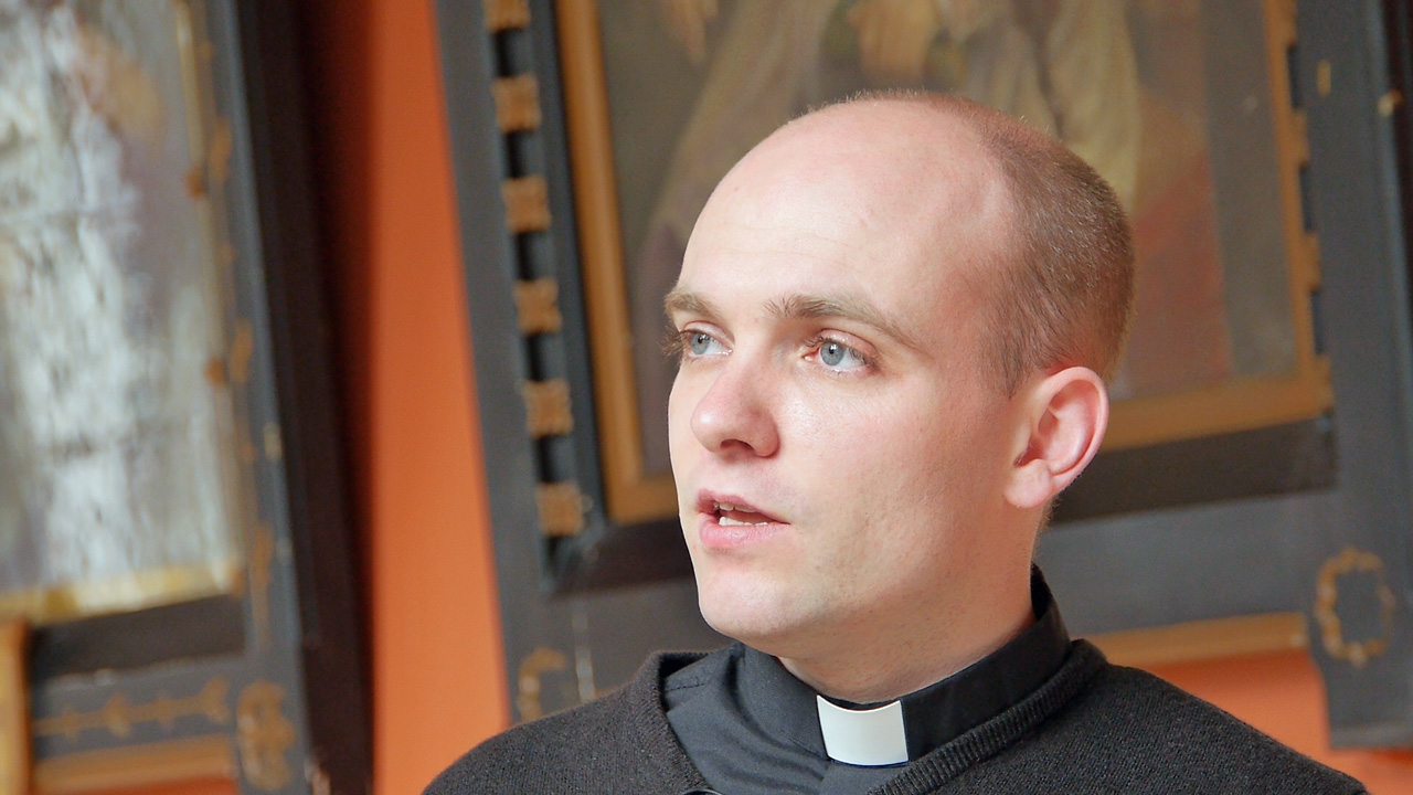 Fr Robert McGivney on answering the call to Priesthood