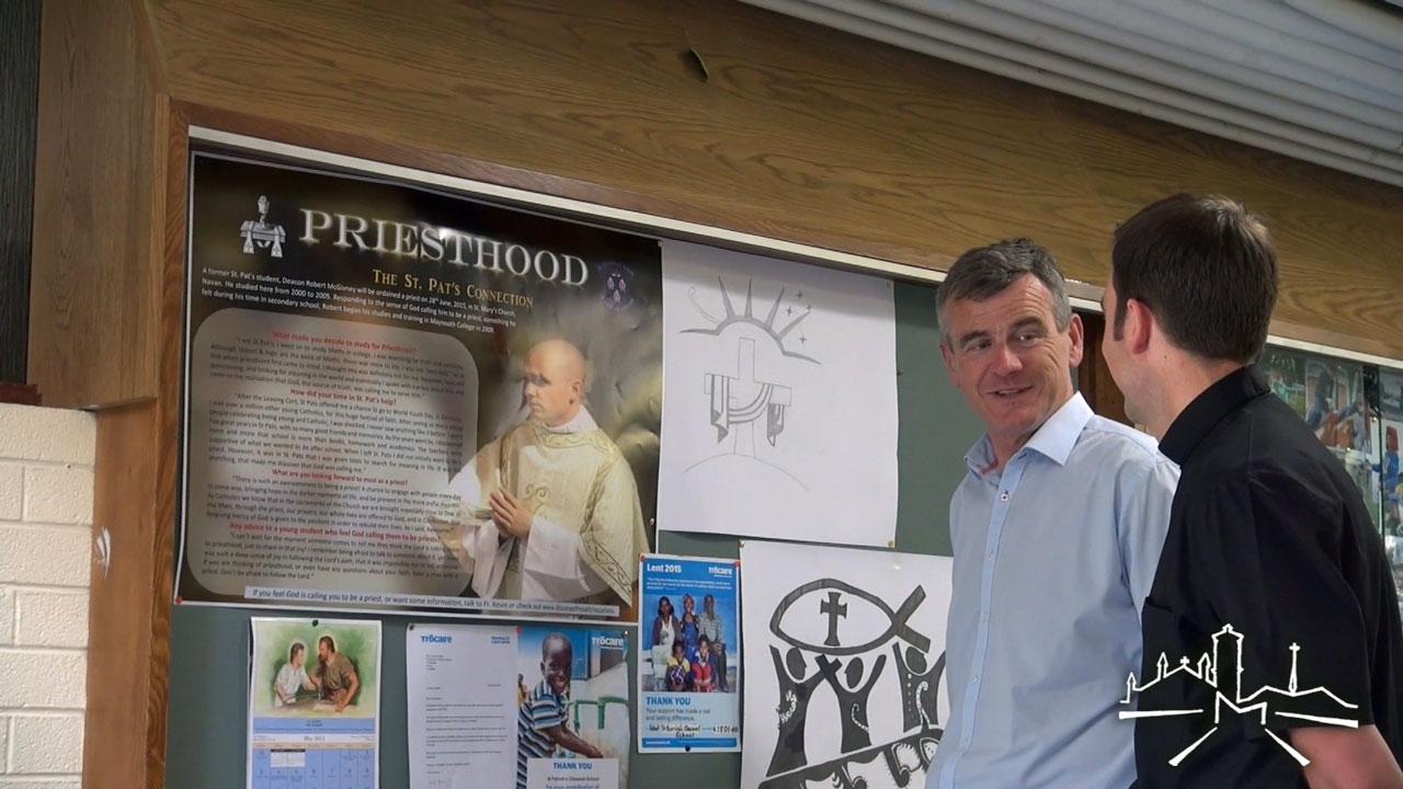 Ordination preparations in Navan Parish