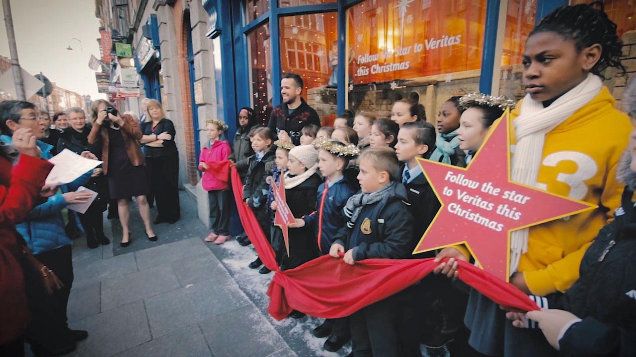 Launch of Christmas Nativity Window – Veritas