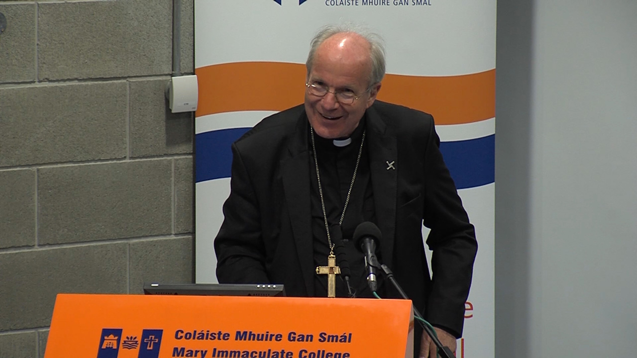 Cardinal Christoph Schönborn at Mary Immaculate College Limerick