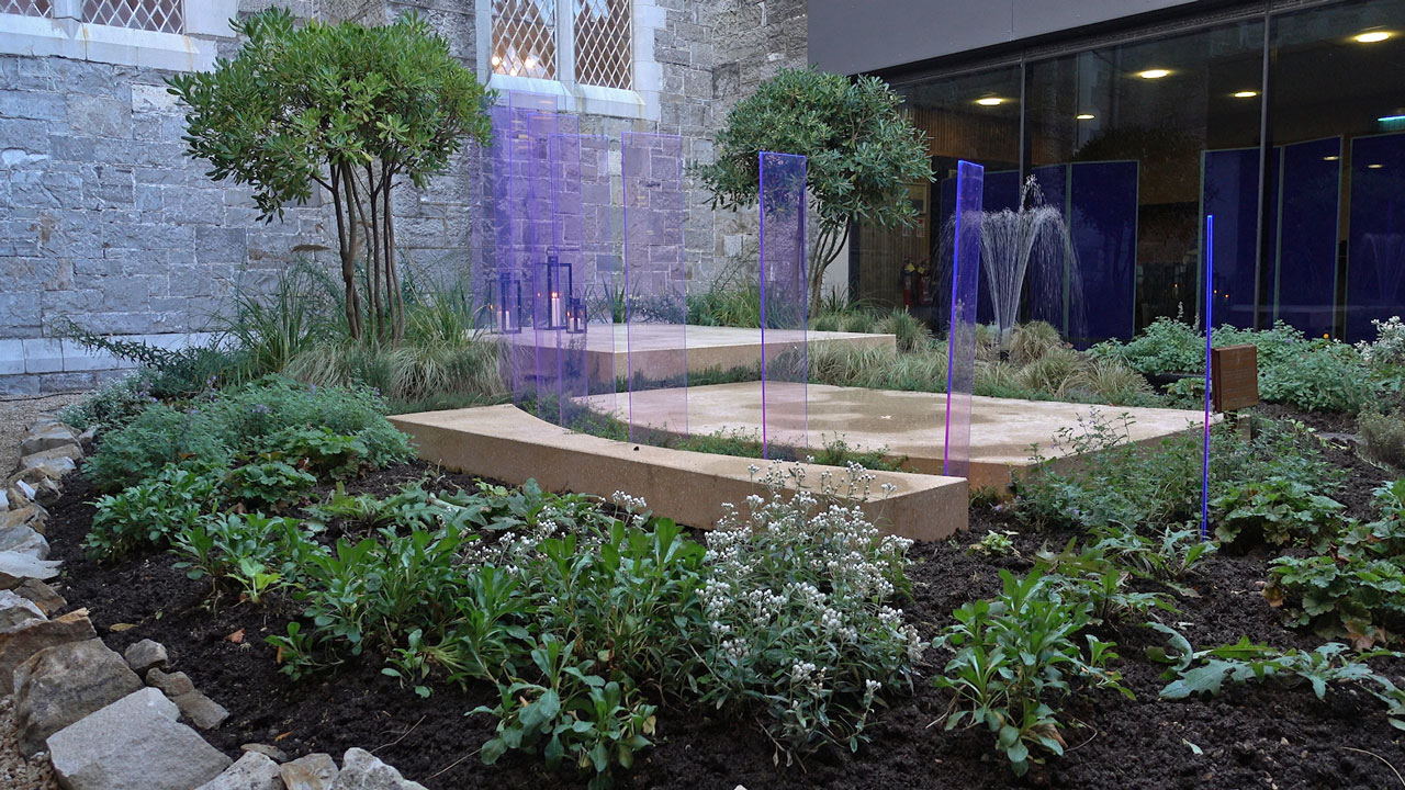 Oscar Romero Garden – St Patrick's College Maynooth