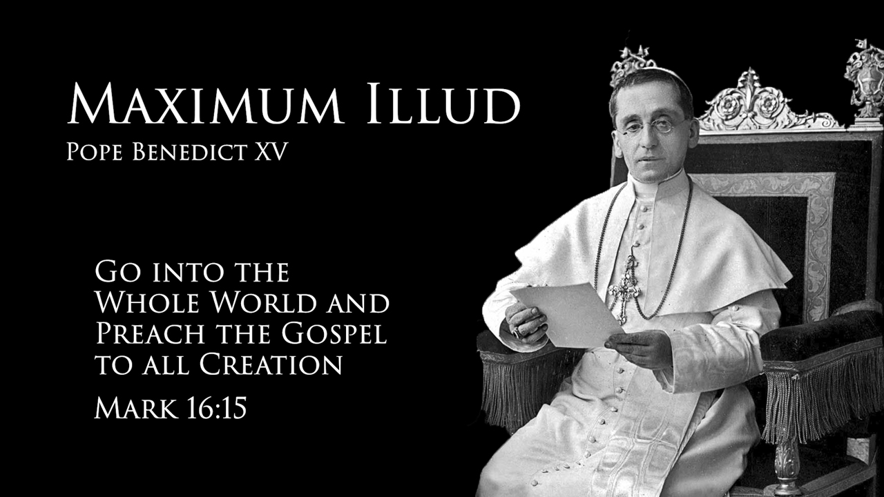 The message of Maximum Illud for missionaries in 2019