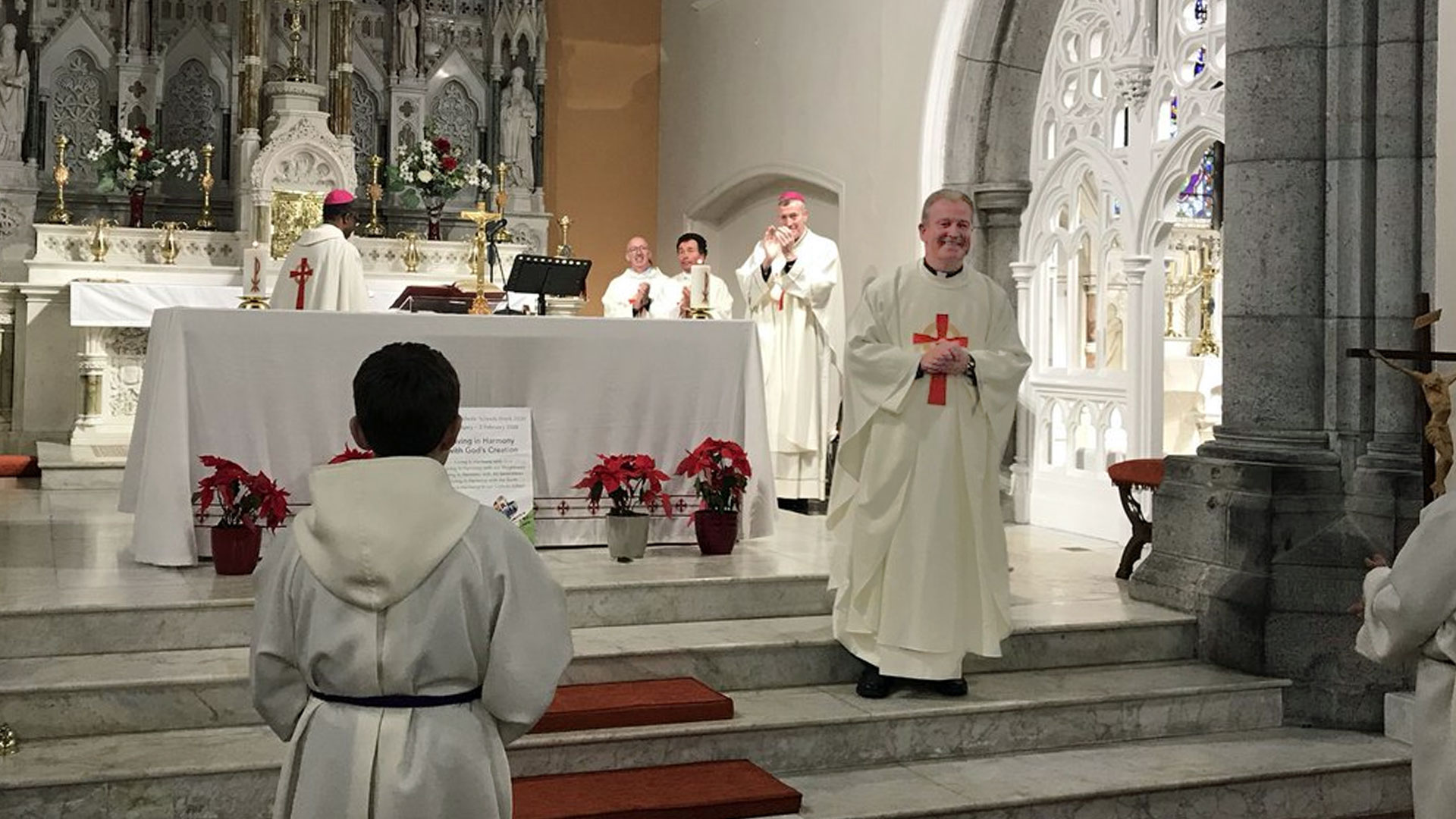 """""""It is about call and response"""" – Bishop Elect Paul Dempsey"""